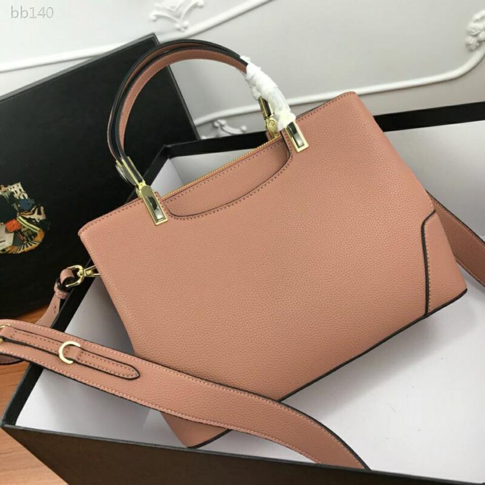 Top Quality New Fashion Female Bag Handbag First Layer Cowhide Light And Durable Shoulder Red Messenger Bag 30cmx22cmx13cm Type4
