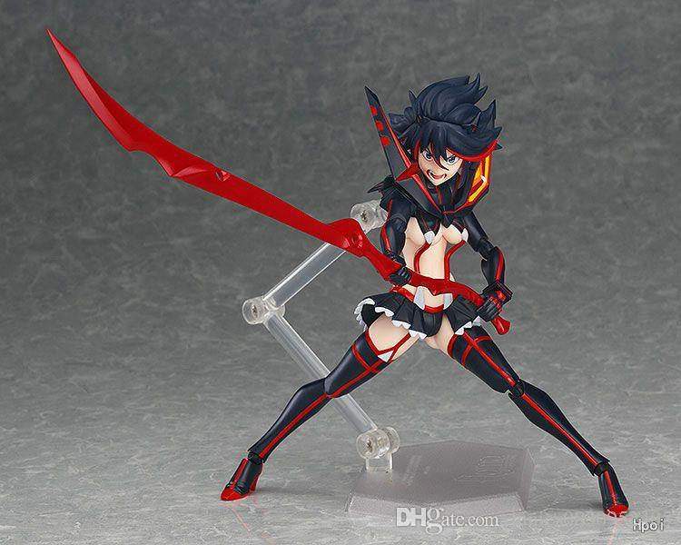 Anime Figma 220 KILL la KILL Matoi Ryuuko PVC Figure No Box 14cm