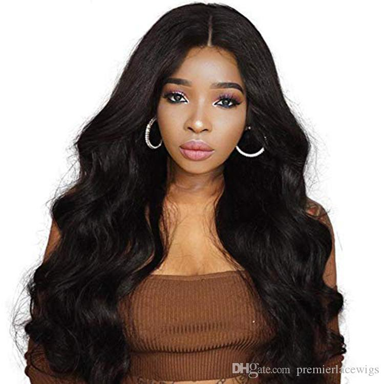 HD Transparent Invisible Lace Front Wigs Undetectable Lace Wig 150 Density Single Bleached Knots Lace Front Human Hair Wigs