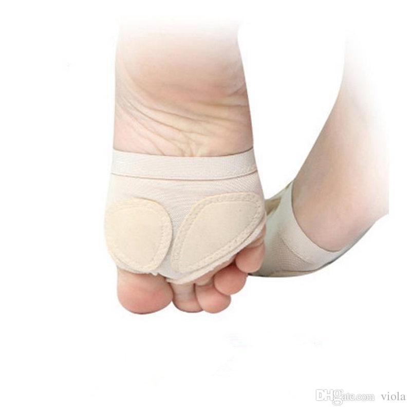 Venta caliente Patas de Baile de Ballet Cubierta del pie Forefoot Toe protector Cojín Pad Media Protección envío gratis
