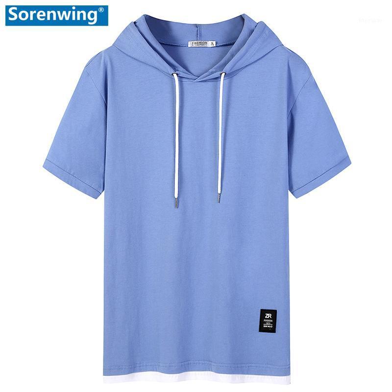 Mens Sweatshirts Hoodies Hip Hop Men's Clothing 2020 Summer Men Brand Hooded Streetwear Man Solid Cotton Pullover Male Hoody1