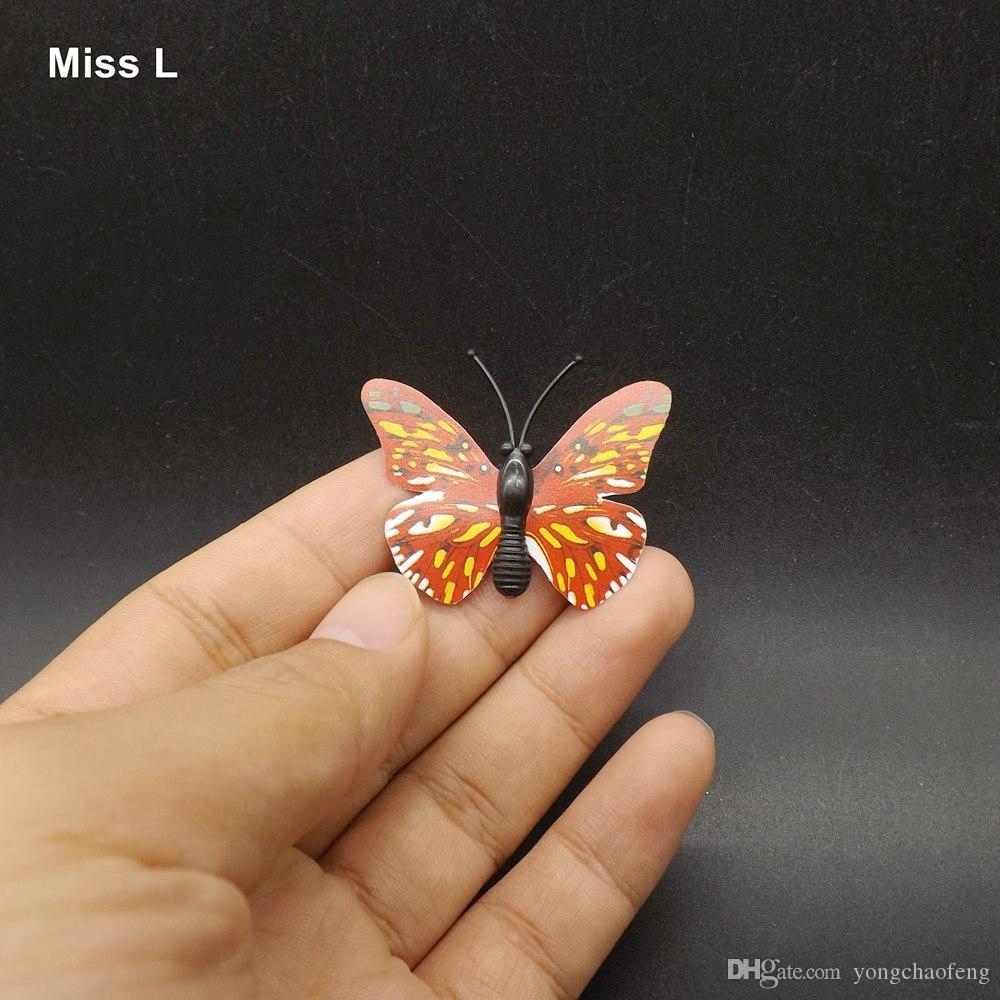 مصغرة الحجم 3D الفراشة مغناطيس نموذج لعبة طفل لعبة تعليم