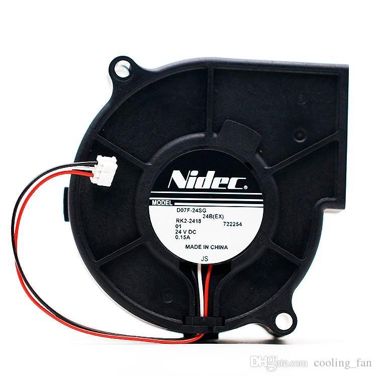 NIDEC D07F-24SG 01A 7530 24V 0.15A 7CM Inversor Turbina Ventilador