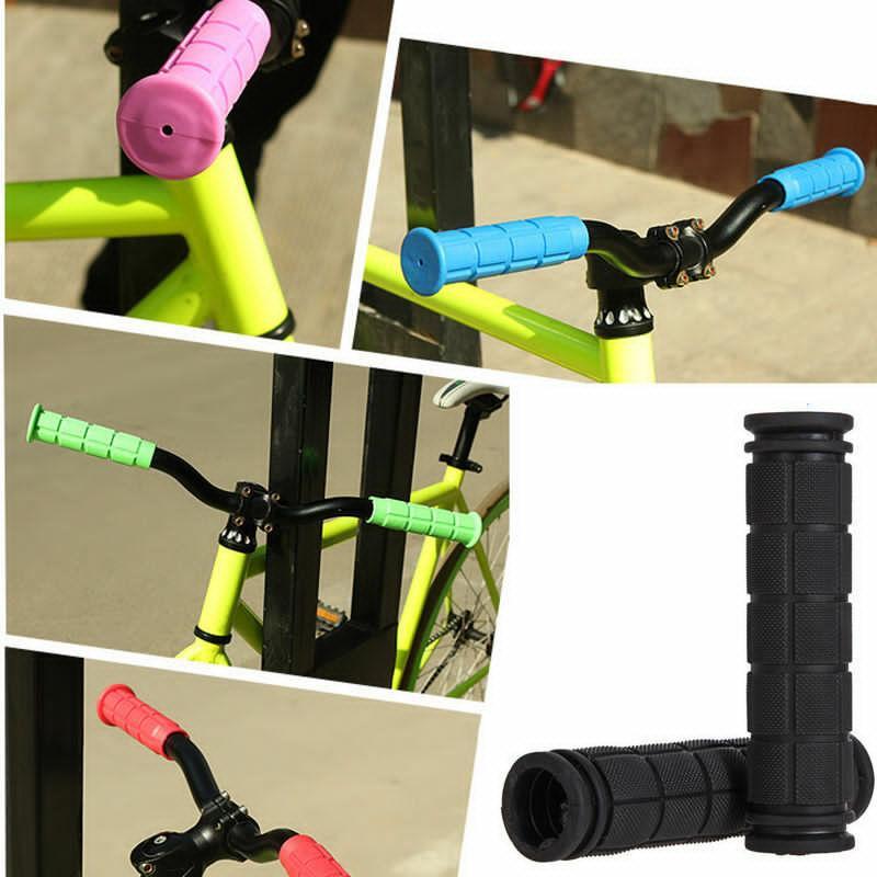 المطاط دراجة المقود غطاء القبضات BMX MTB دراجات الجبلية مقابض المضادة للانزلاق الدراجات بار القبضات الثابتة والعتاد أجزاء KHA040