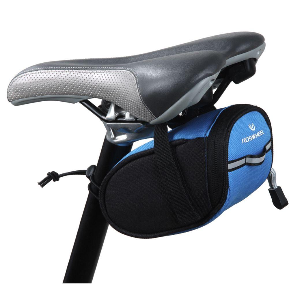 Sac de vélo étanche 7x7.5x15cm Sacoche de selle arrière Sacoche de selle de selle Queue Poche Accessoires de vélo