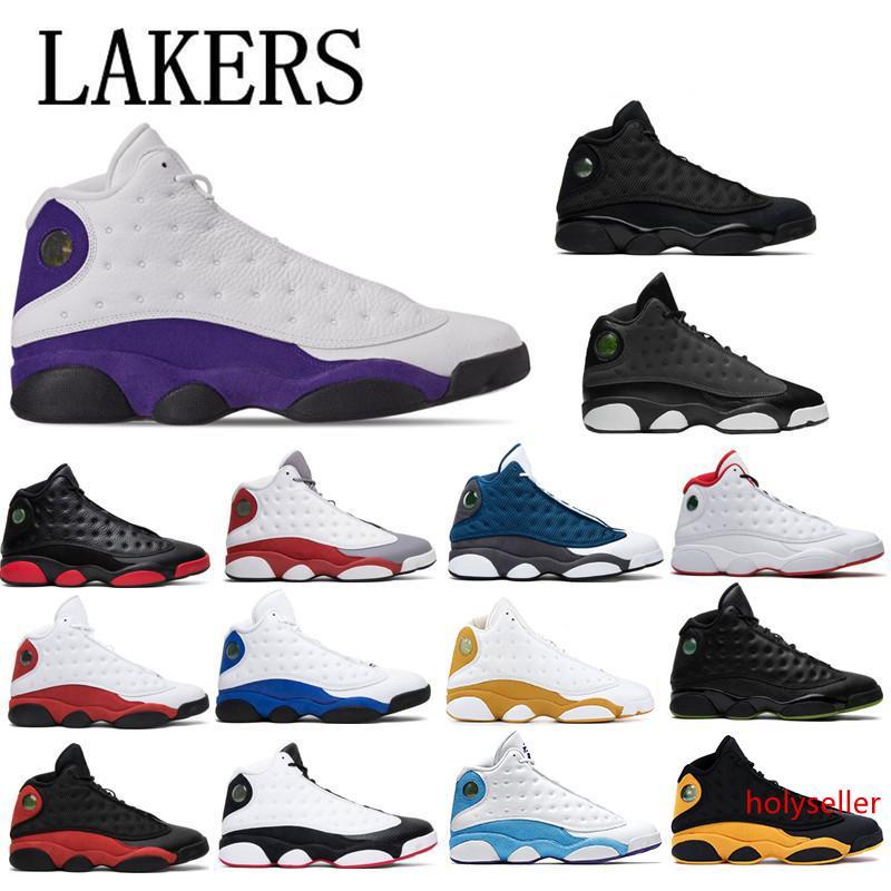 13 13 S Lakers rivali uomini scarpe da basket Cap e abito Chicago Melo classe di Chicago Black Cat Hyper Royal Mens Sport trainer sneaker
