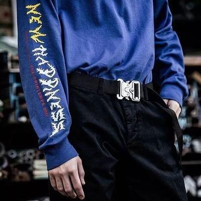 Alyx ceinture Marque Hommes Militaux Entraînement multifonctionnel de haute qualité Strap de haute qualité CEINTURES HIP POP Hommes Ceinture GSJKXZ