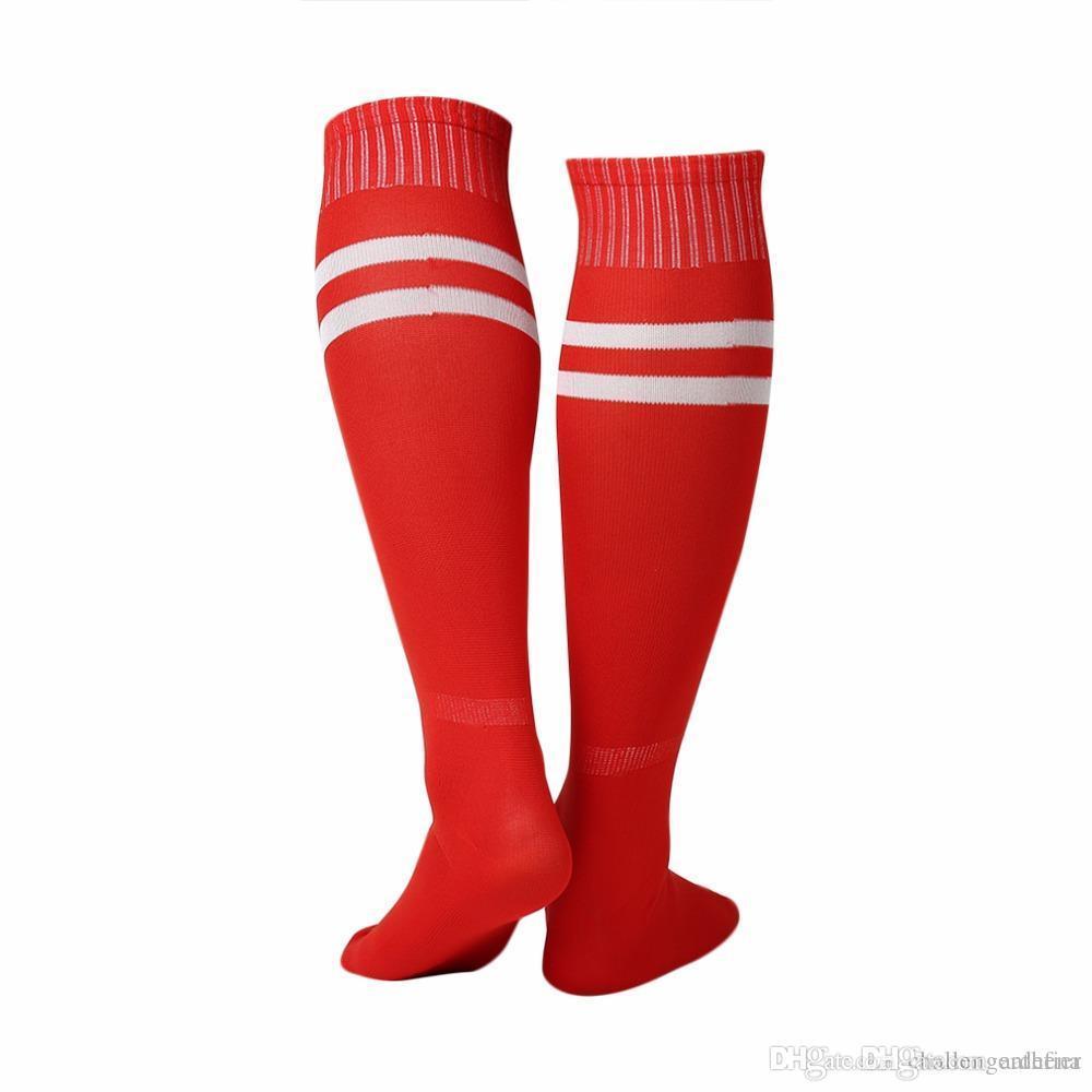 1 paire chaussettes de sport genou Legging Bas Football Baseball Football Plus genou cheville Hommes Femmes Chaussettes Hot Sale Dropshipping