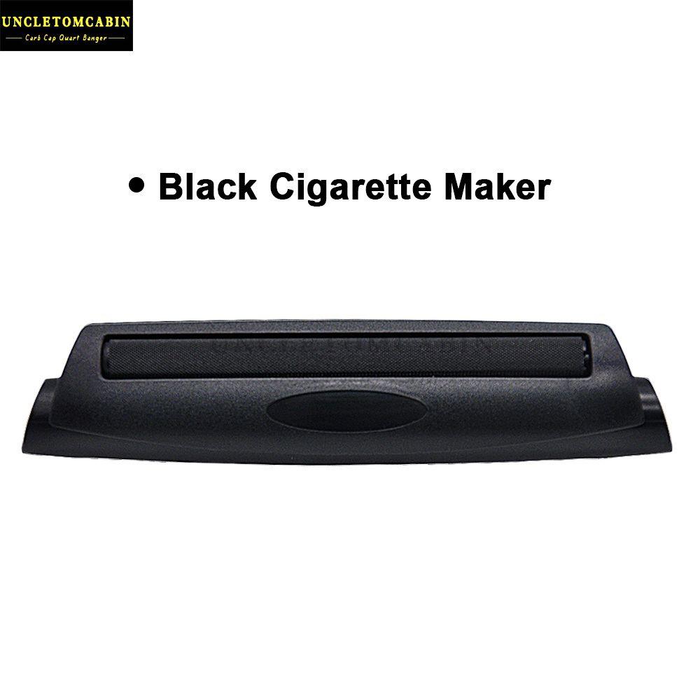 110mm plastrullningsmaskin cigarett tobaksrullpapper king size cigarett rullande kotte papper rökning rör torr örtkvarn