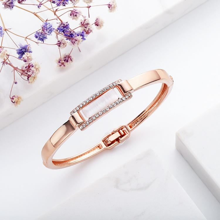 Kız Aksesuarları Sıcak için Kadınlar Moda Bilezikler Baklalı Zincirler Yapay elmas elmas kolye Charm Bilezikler Takı Sevgililer Günü Hediye