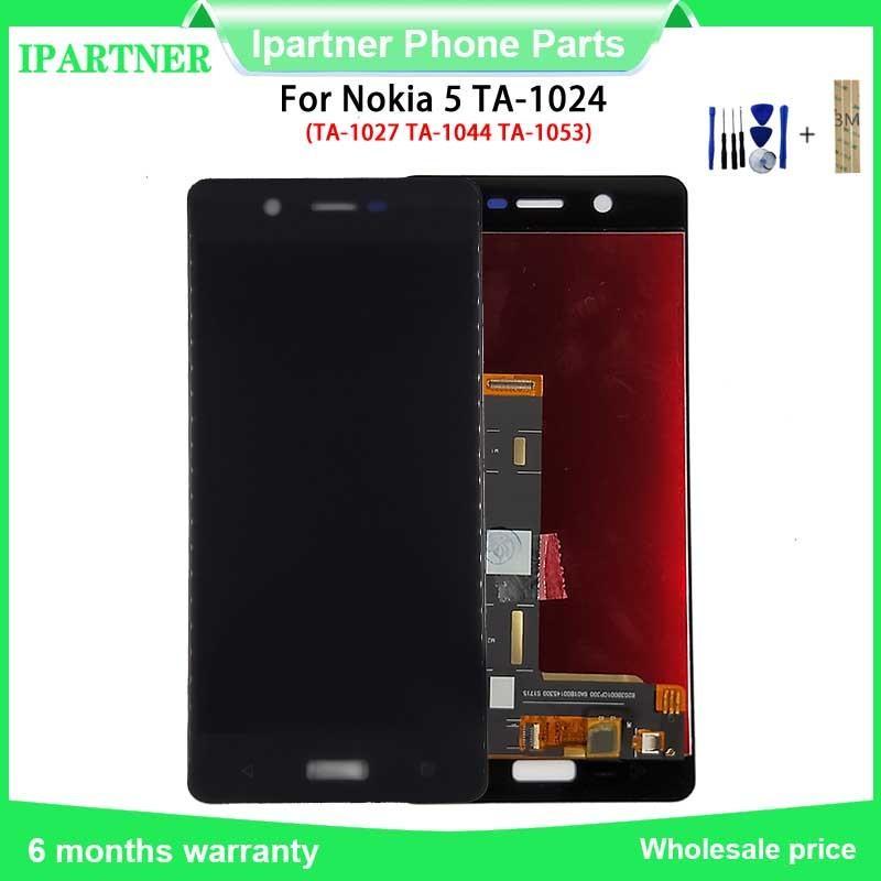 5.2 pollici per Nokia 5 LCD TA-1024 TA-1027-TA 1044 TA-1053 LCD Touch Screen di visualizzazione Digitizer Assembly vetro Parti di ricambio