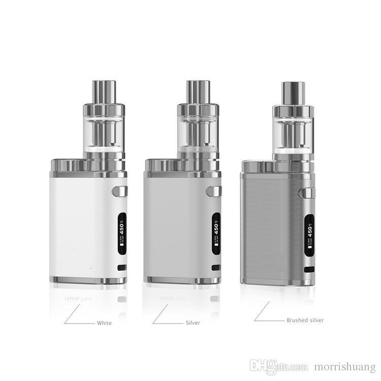 Pico 75w starter Kit electronic cigarette 18650 510 Thread battery Box mod 2ml Melo 3 Tank vaporizer vape pen box mod