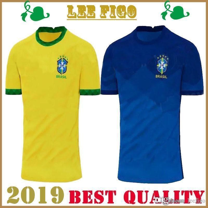 Copa América 2020 2021 Brasil brasil camisetas de fútbol 20 21 CAMISETAS DE FUTBOL MARCELO G.JESUS P.COUTINHO del equipo nacional de fútbol camisas