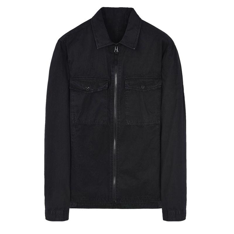 Best 18FW 107WN OVERSHIRT OLD GARMENT TYE Shirt TOPST0NEY Hombres Mujeres Chaqueta Facshion Cotton Coat Top HFLSJK324