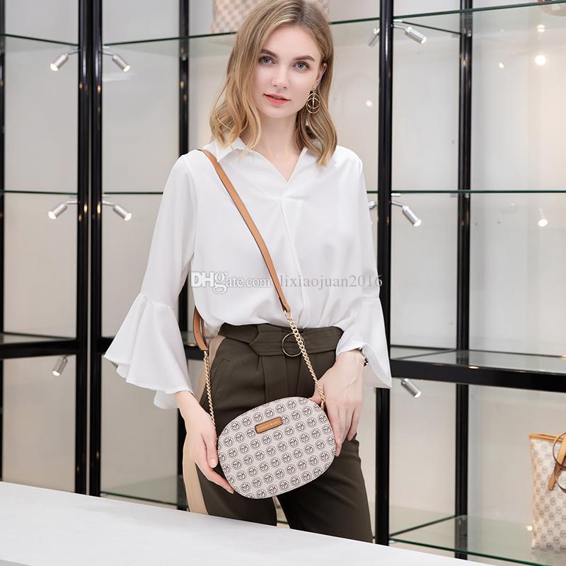 Американский бренд и европейские новые сумки дизайнер роскошные женские кошельки 2021 высокий стиль качества микрофибры круглые модные плечо Handb JRPQ