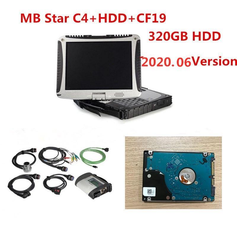 Qualidade A +++ MB Estrela C4 SD Conectar com Panasonic Militar Laptop CF-19 2.020,06 Engenheiro de Software SD Ligação C4 diagnóstico do carro