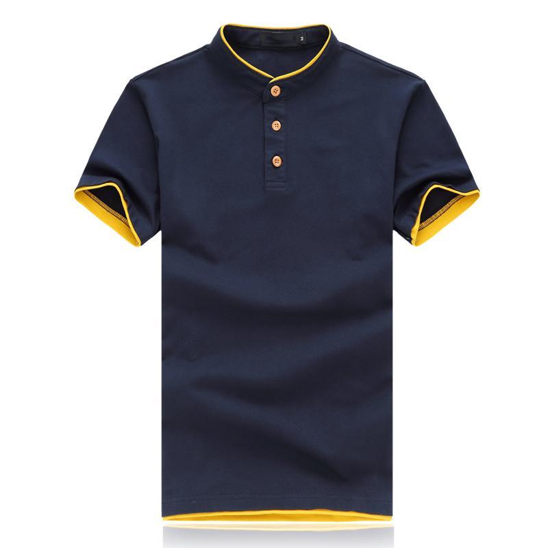 Brand 2020 camiseta de verano de manga corta de los hombres M-5XL Ropa tamaño asiático