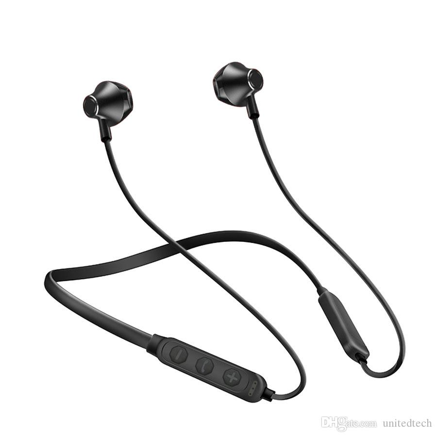 Bluetooth Headset Earphone Sports Wireless Bluetooth 4.1 CSR Headphone Best Quality For iphone XS 11 Xiaomi Neckband Sport Stereo Retail Box