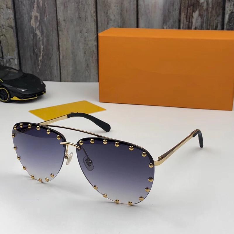 0972 óculos de sol para homens e mulheres Popular Moda Big Verão Estilo Top Quality UV Lens Proteção vem com pacote