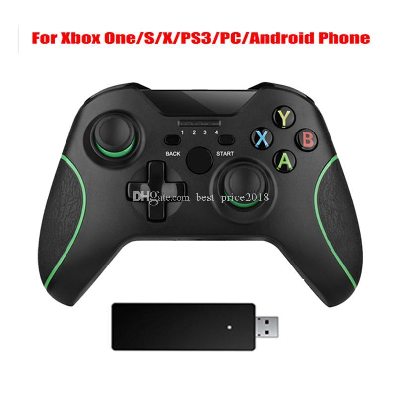 2.4G беспроводной контроллер для консоли Xbox One для ПК для смартфона Android Gamepad Joystick