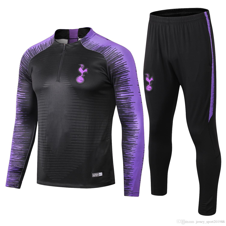 2018 2019 spurs soccer tracksuit ERIKSEN KANE Training suit 18 19 ERIKSEN SON ERIKSEN JANSSEN Football jacket kit track tracksuits