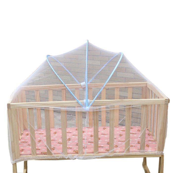 Bebek Yatağı Cibinlik Örgü Yaz Dome Perde Net Katlanabilir Çocuklar için Güvenli Yürüyor Beşik Cot Canopy Sivrisinek A723