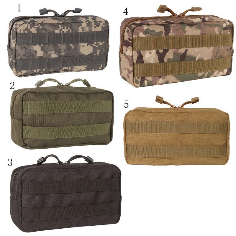 Bolsa de herramientas militar MOLLE Kit de primeros auxilios médicos paquete bolsa de bolsa suave de almacenamiento táctico del recorrido al aire