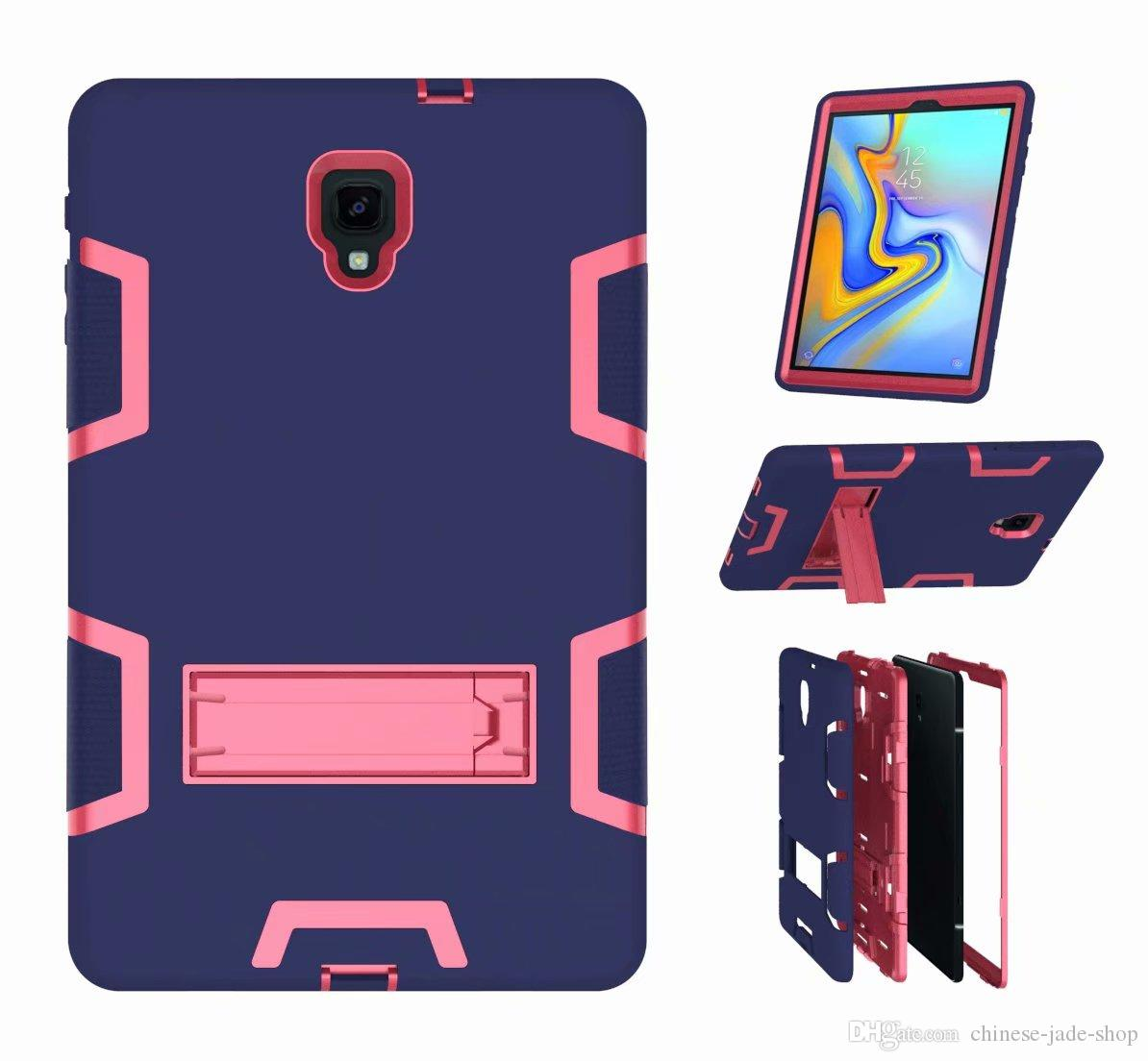 A type Heavy Duty Shockproof Kickstand Hybrid Robot Case Cover FOR Samsung Tab A 10.1 P580 Tab A 10.5 T590 30PCS/LOT