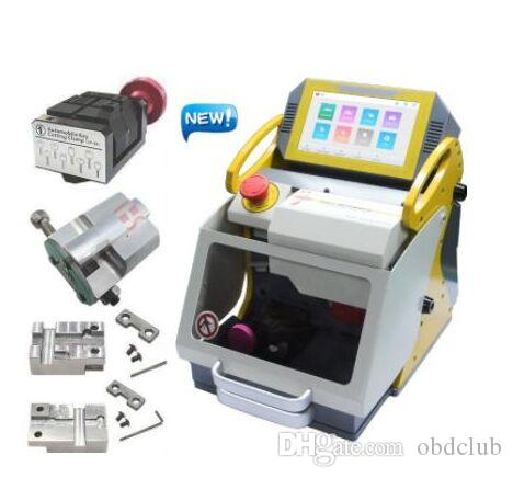 100% Original 2020 Newest SEC E9 Laser Engrave Machine For Auto And House Keys All Lost Copy Funtional more than Slica Key Cutting Machine