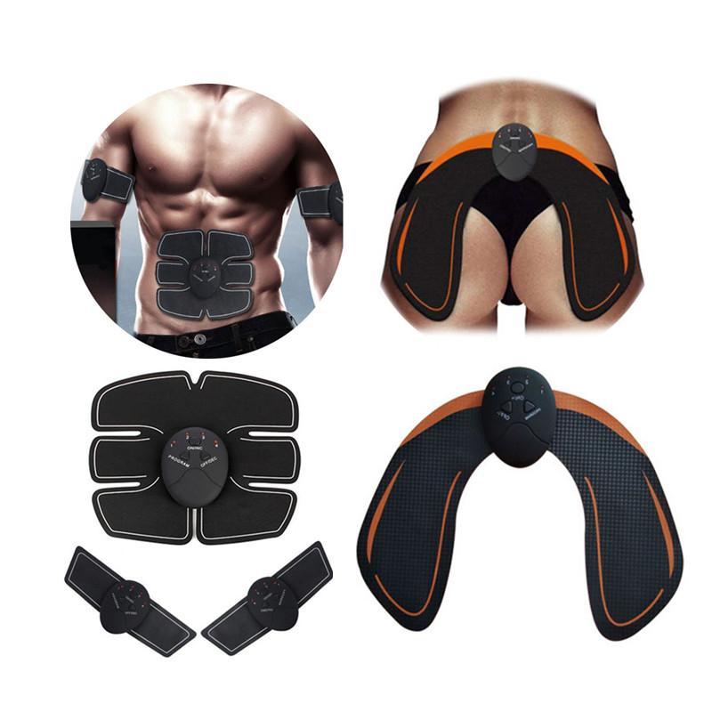 XC Bauchmuskeltrainer drahtlose intelligente Körper schlank Massage elektrische Hips Trainer Stimulator Fitness Körper Schlankheits-Maschine