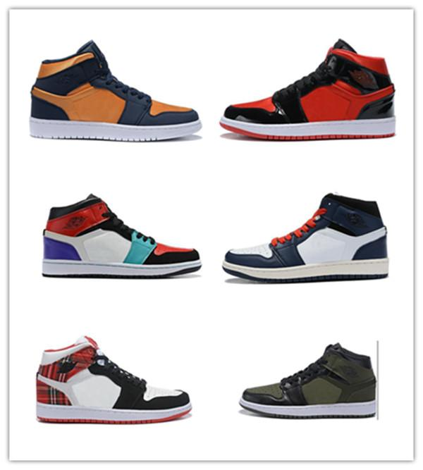 In secondo luogo out2020 Nuovo Travis Scotts X 1 High Olimpiadi Mid Basketball Shoes Cheap Reale Banned Bred Toe Nero Bianco Uomo Donna 1S Not For Resale V2 Pre