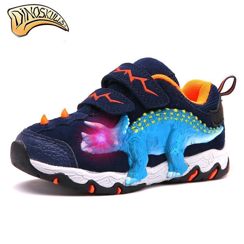 Dinoskulls Genuine Leather Sneakers