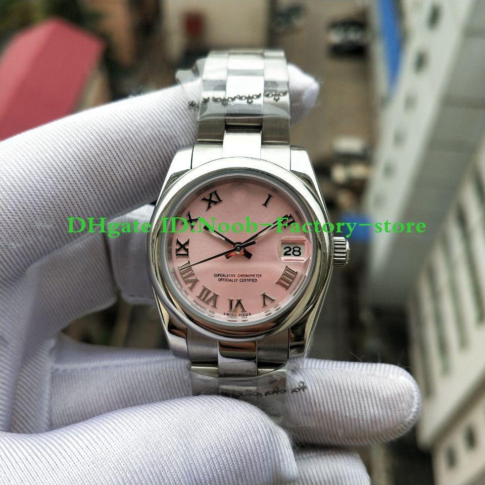 Fabrik reale Schießen Damenmode DATEJUST römischen Ziffern Weihnachtsgeschenk Uhren klassische Art 31mm 17824 Automatische Uhr der Frauen Watche