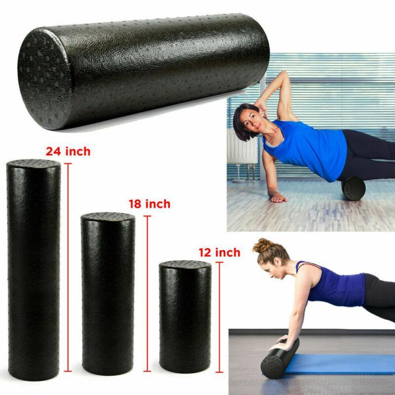Grid Foam Roller Massage Ball Yoga Pilates Muscle Physio Exercise Gym Fitness UK