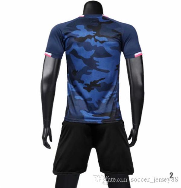 Nuevo llega el blanco camiseta de fútbol # 1901-12-84 Personalizar caliente de la venta superior calidad de secado rápido camisetas de la camiseta de uniformes Jersey