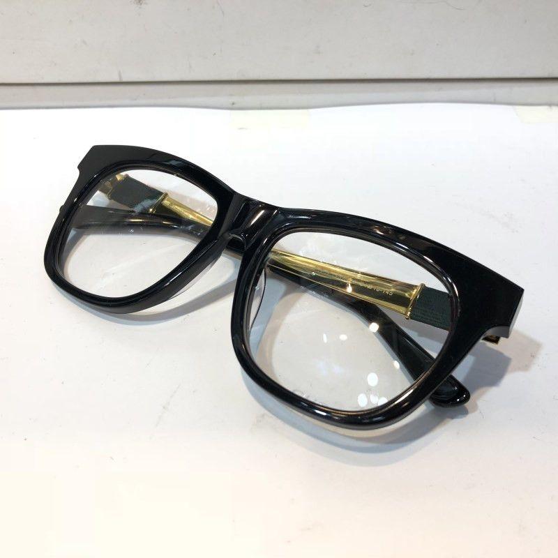 4237 EYE-Brille für Männer Art und Weise populären aushöhlen optischen Objektiv Cat Eye Full Frame Schwarz Schildkröte Silber kommt mit Paket-4237S