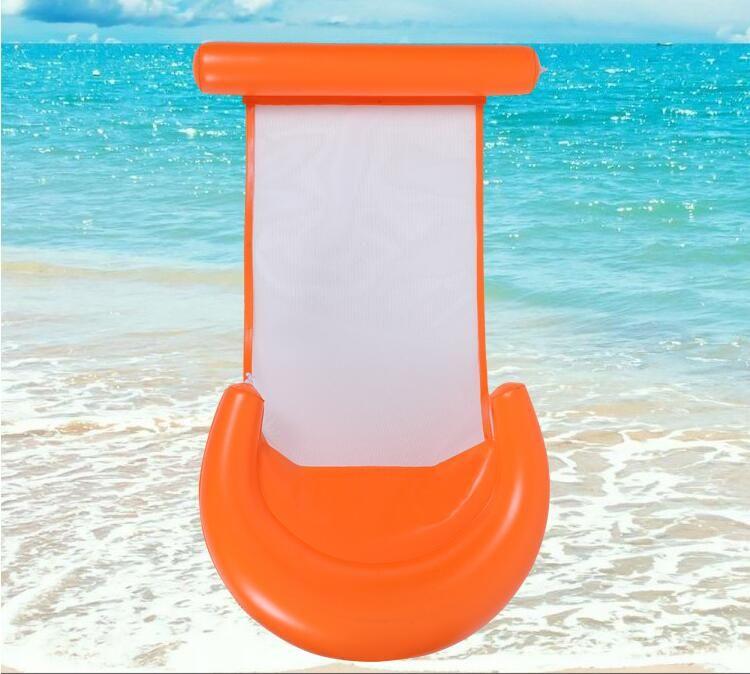 hamac eau maille gonflable paresseux Salon Lit Chaise d'été Piscine Float piscine Planches piscine gonflable Bed plage Jouer outil