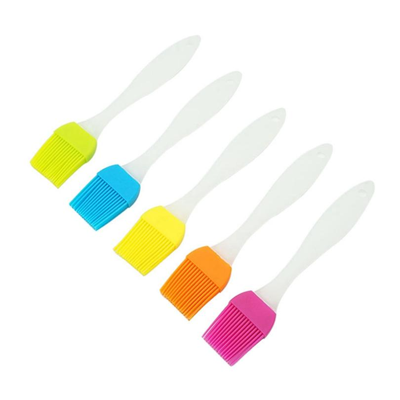 Silikon-Grillbürste Öl Butter Pinsel Gebäck Grill Speisen Brot Basting Pinsel Bakeware Kochen Werkzeuge Bunte HHA1303