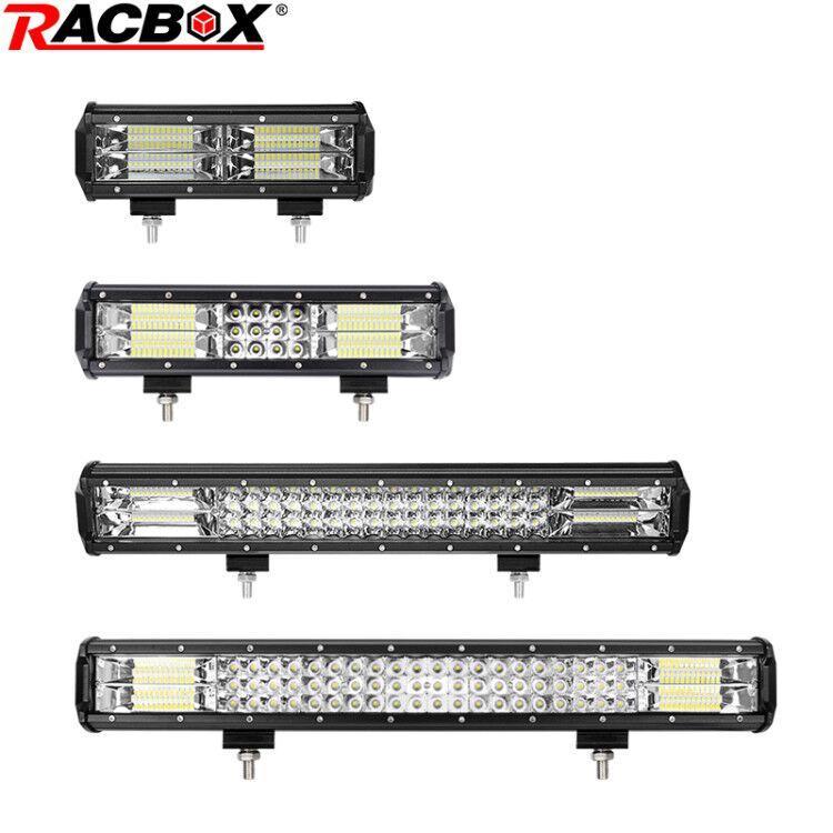 Sis LED 12V 24V Bar 10 12 20 23inch 144W 180W 288W 324W Combo Işın Far Worklight için Otomatik Otomobil
