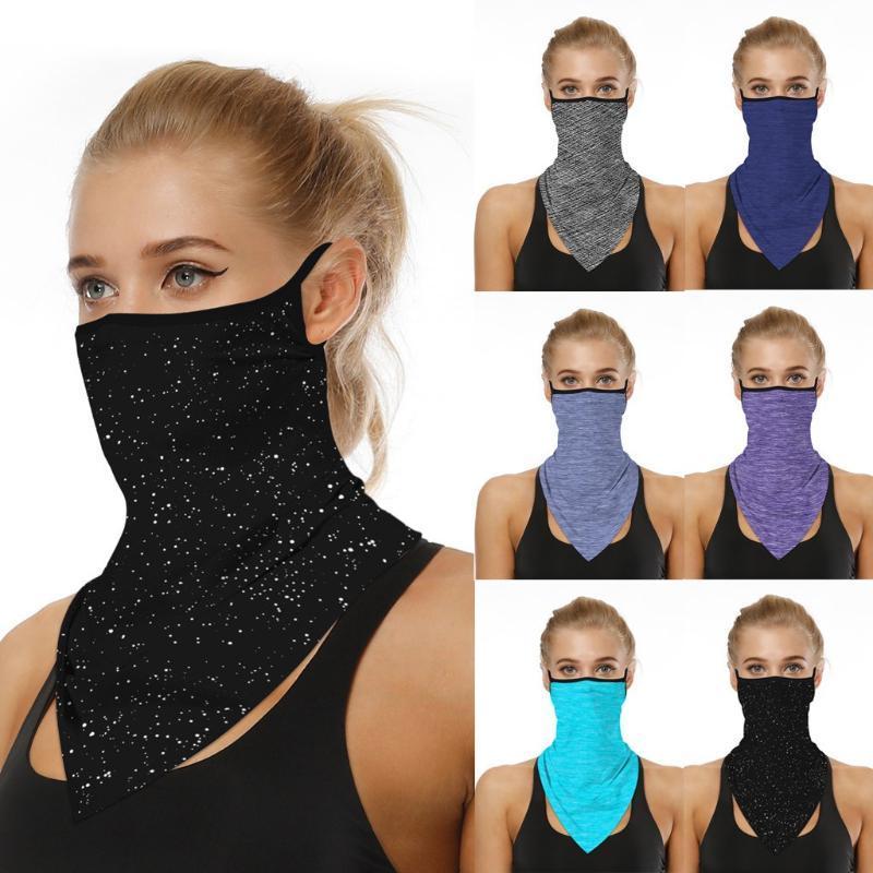 Ağız Güneş Mendil Hafif İpek Bandana Eşarp Koruma Eşarp Yüz Sürme Maskeleri Koruyucu Açık Maske Kadın Maskesi EKGVS