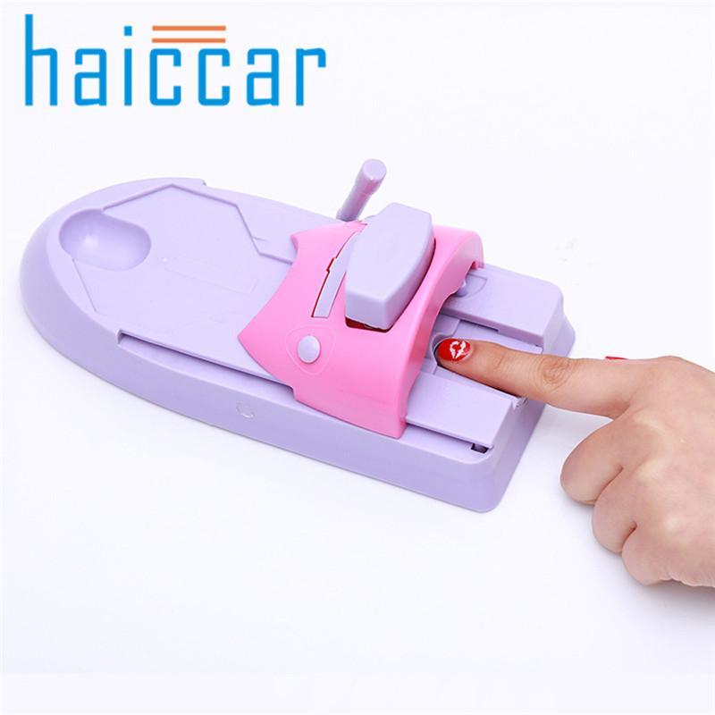 Großhandel Nail Art Beruf Drucker Zeichnung Druckmuster Nail Art Stempel Maniküre Maschine Stamper DIY Kit # 40-42