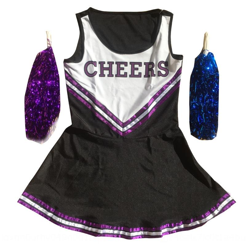 cheer sexy Stage clothes clothing cheerleader dress cheerleader performance female stage costume performance costume
