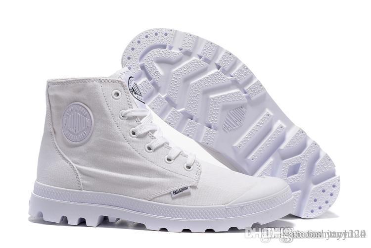 2019 de alta qualidade botas de paládio Original Marca Mulheres Homens Designer Sports Branco Red Sneakers Inverno Casual Trainers Homens Mulheres ACE Luxury b
