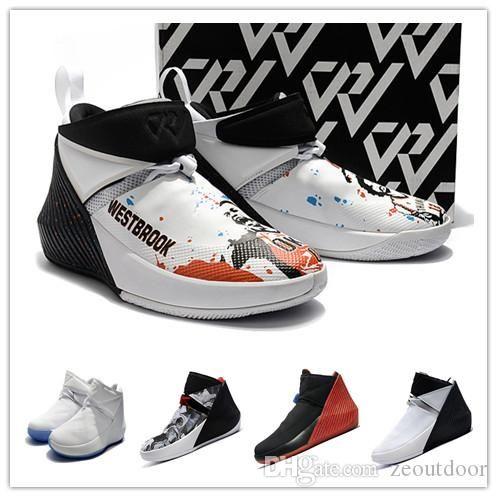 2018 NEWS vendita Russell Signature Scarpe da basket Why Not Zer0.1 Immagine speculare Sneaker sportivo da uomo Alta qualità Zero one 0.1 ZE