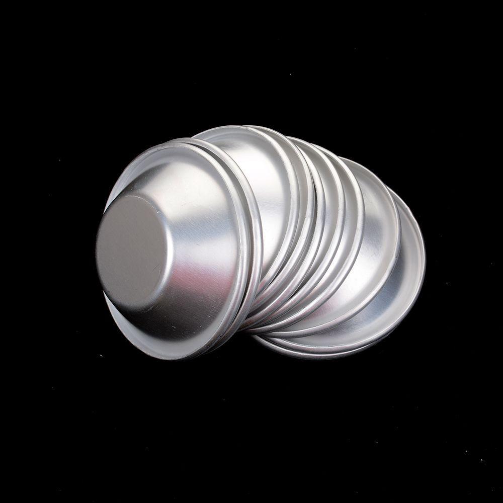 Torte Eier Törtchen Mold Mini hausgemachte DIY Silber Backen Quiche Werkzeuge Pudding Aluminium Kekse Backform Kit Pan Legierung GT86 MEGS