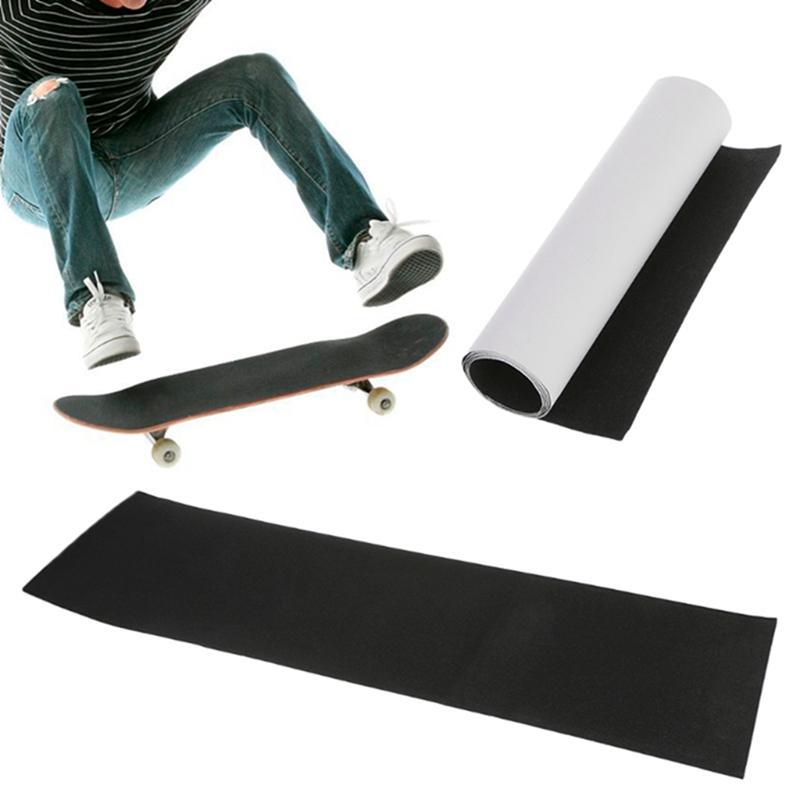 Profissional Preta Skate Deck Lixa Fita De Fixação Para Longboarding Board Longboarding 83 * 23 cm alta quantidade