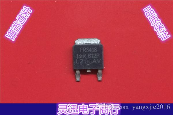 Transistore ad effetto di campo utilizzato FR3418 MOSFET TO-252 Test Ok