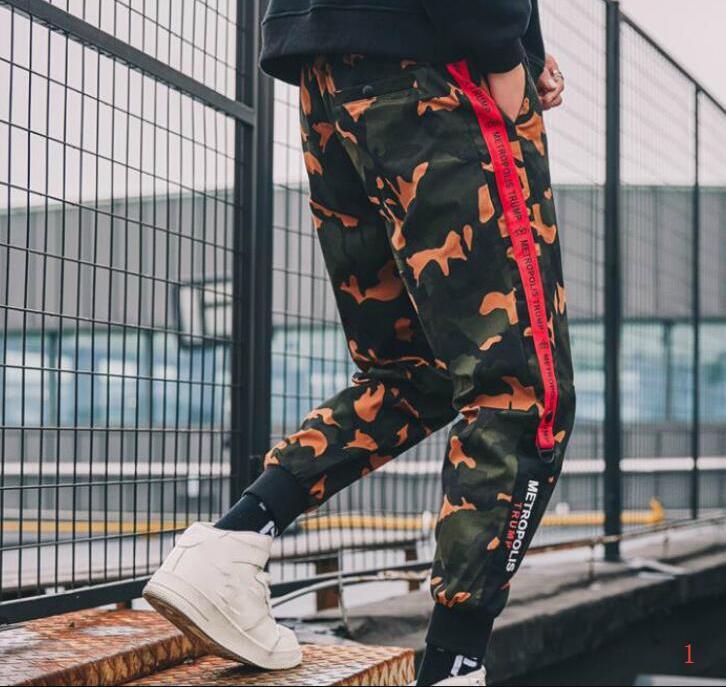 Pantalones de diseño de moda de marca para hombre Pantalones deportivos Trouse otoño del resorte de los hombres pantalón con cordón elástico Joggers Ropa M-4XL PH-WN204265
