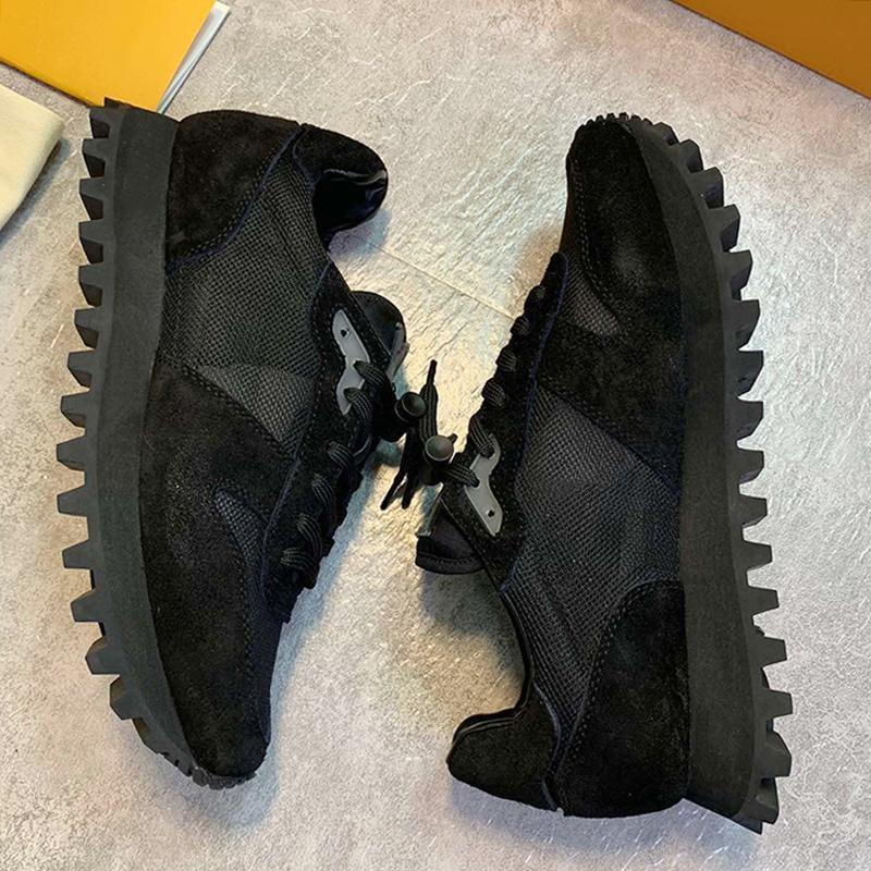Louis Vuitton LV New Respirant Runner Sneaker Chaussures Hommes Scarpe Da Uomo Di Lusso Mode Outdoor Chaussures de marche Lace -Jusqu'à Plus Size Hommes Luxe Chaussures de sport