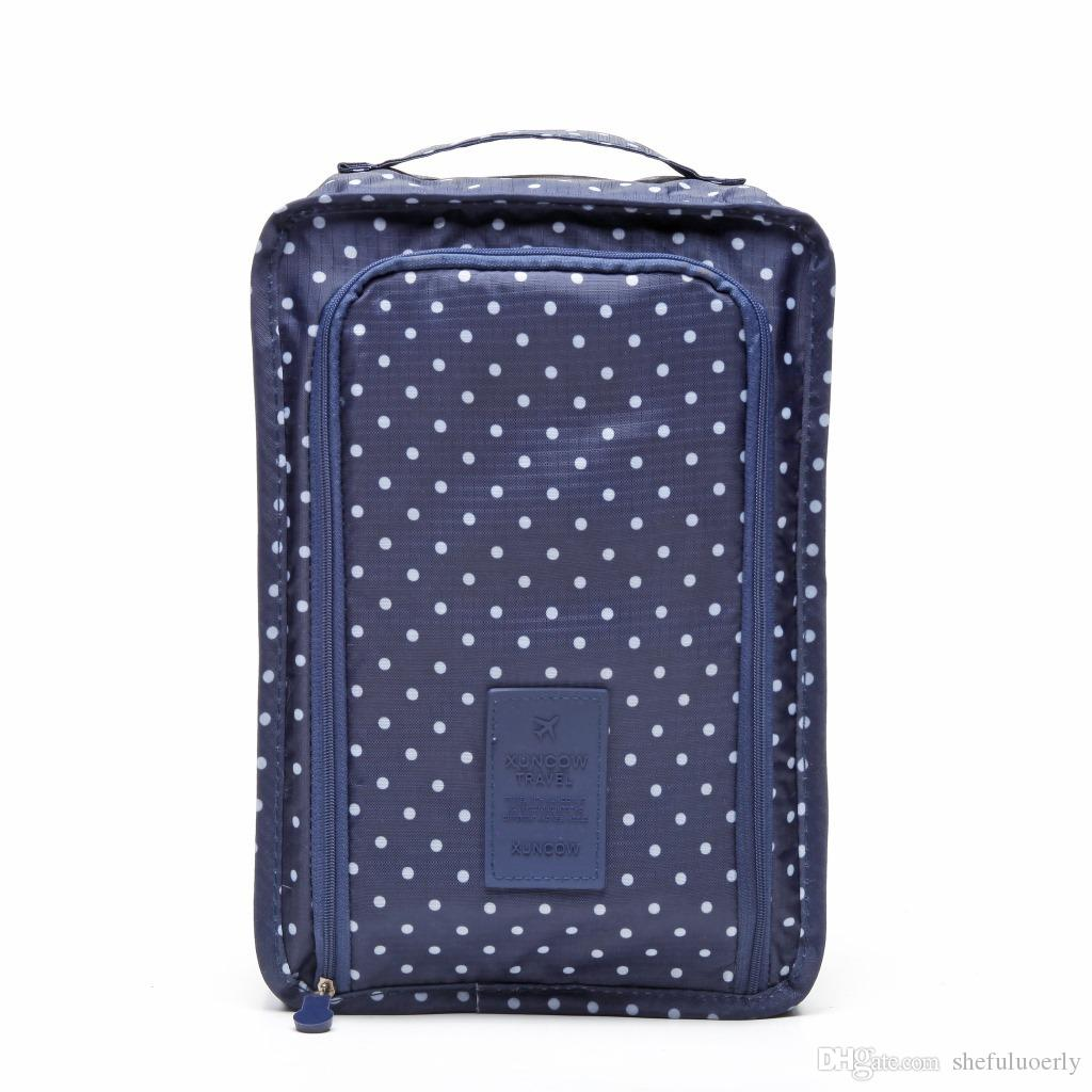 Portable Storage Bag Case Multi-functional waterproof Oxford cloth travel bag double deck lady's make-up bag Home Storage Housekeeping